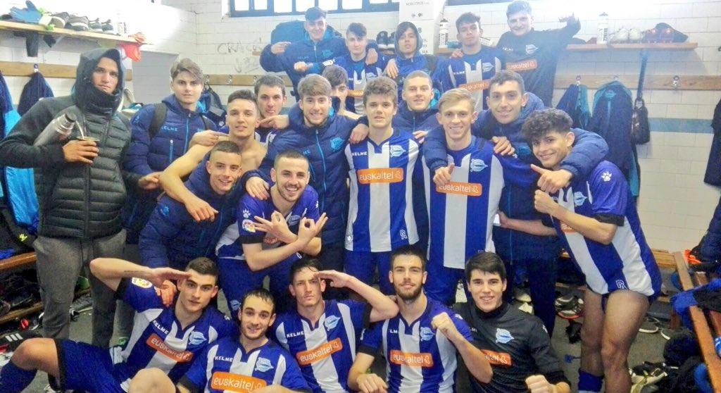 FINAL | !GRAN VICTORIA! Partidazo de los chicos de Iñaki Alonso ante el @AthleticClub   #juvenilA 3 - @AthleticClub 2