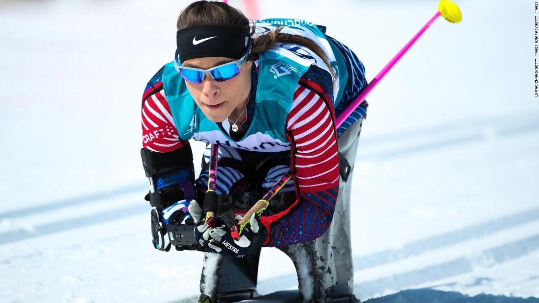 US Paralympian's remarkable journey from...