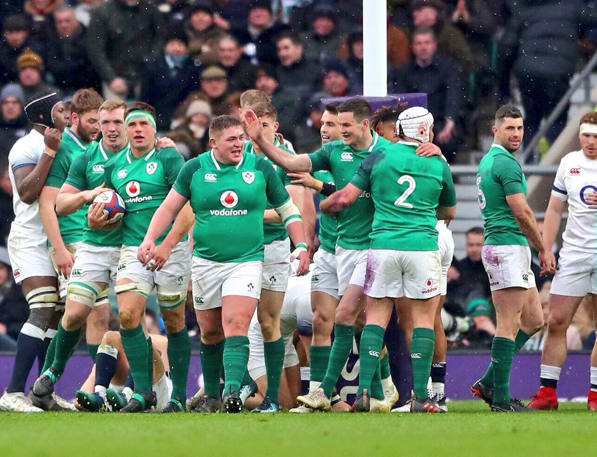 🇮🇪 Ireland 24 - 15 England 🏴󠁧󠁢󠁥󠁮󠁧󠁿  🏆 Crowned Grand Slam Champions  ☘️ St. Patrick's Day  🎉 Some Celebrations Tonight!