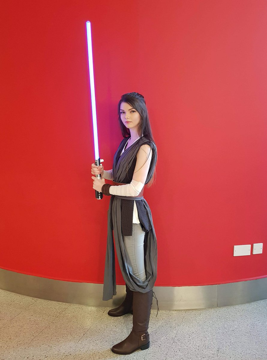 I got to be a Jedi today and it was fun:):)))