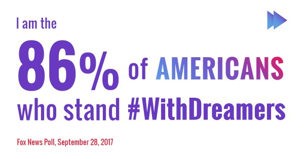 Lawmakers have failed not only 800,000 Dreamers, but their loved ones, friends, community members, employers & the 86% of Americans who stand with them. Call Congress & demand they  TODAY. #ProtectDreamers   #DACAhttps://t.co/zbnFs5Ln85#HereToStay#HereToFight