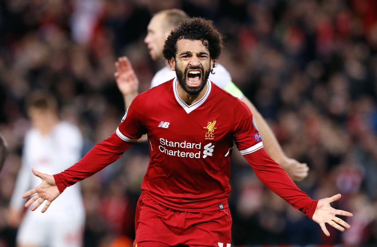 🇪🇬 👑 Most goals for Liverpool in a debut...