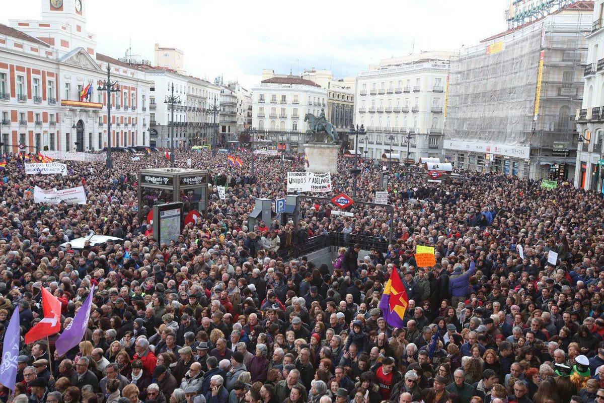 Hoy Madrid es un clamor popular por unas...