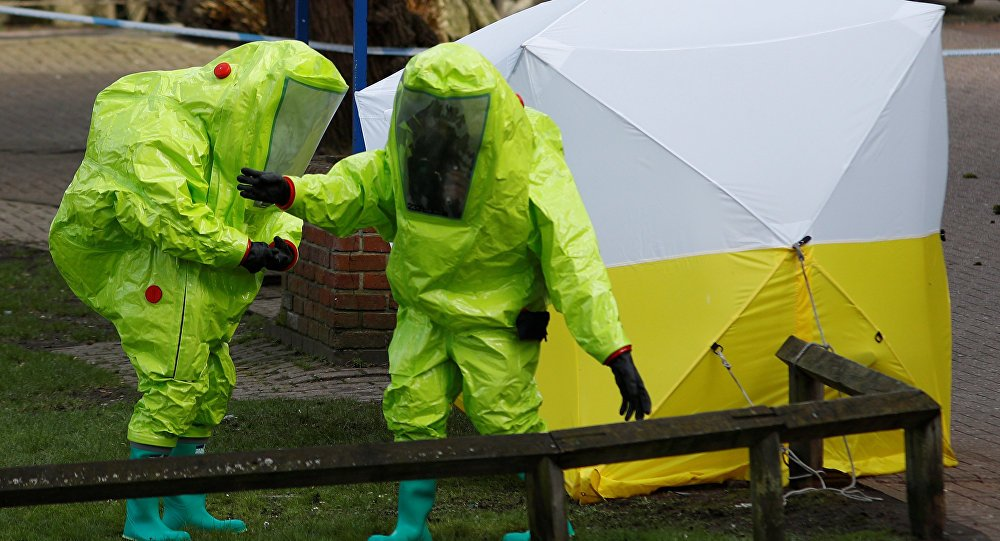 May heckler demands 'clear evidence' Russia behind #Skripal poisoning https://t.co/rJiJ6veZtH @theresa_may