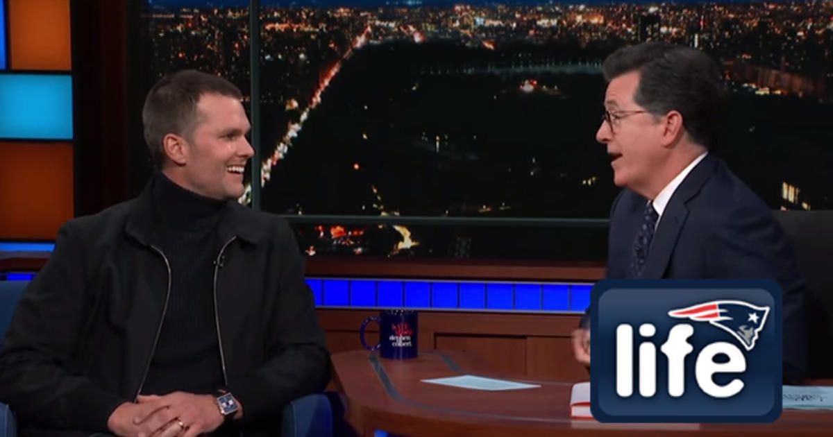Brady brings his competitive nature to a whole new level on @colbertlateshow: https://t.co/F1yTMMnw02 https://t.co/wBwhT3VILu