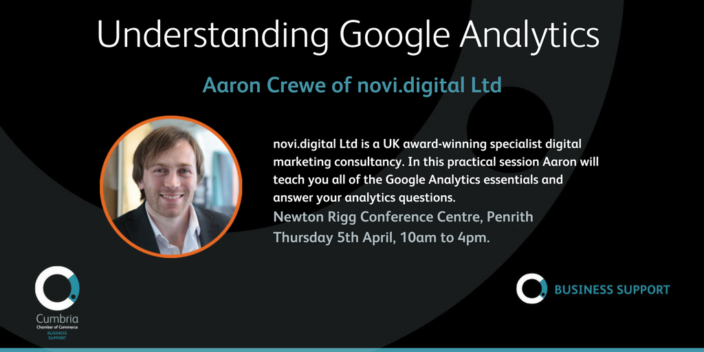 test Twitter Media - Understanding Google Adwords with Aaron Crewe of Novi Digital at Newton Rigg, Penrith on 5th April - full details and booking at https://t.co/llbQrdq3uD https://t.co/Diy2o0osFd