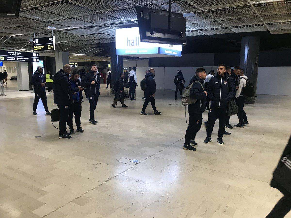 #OMOL Arrivée de la #TeamOL à Marseille...