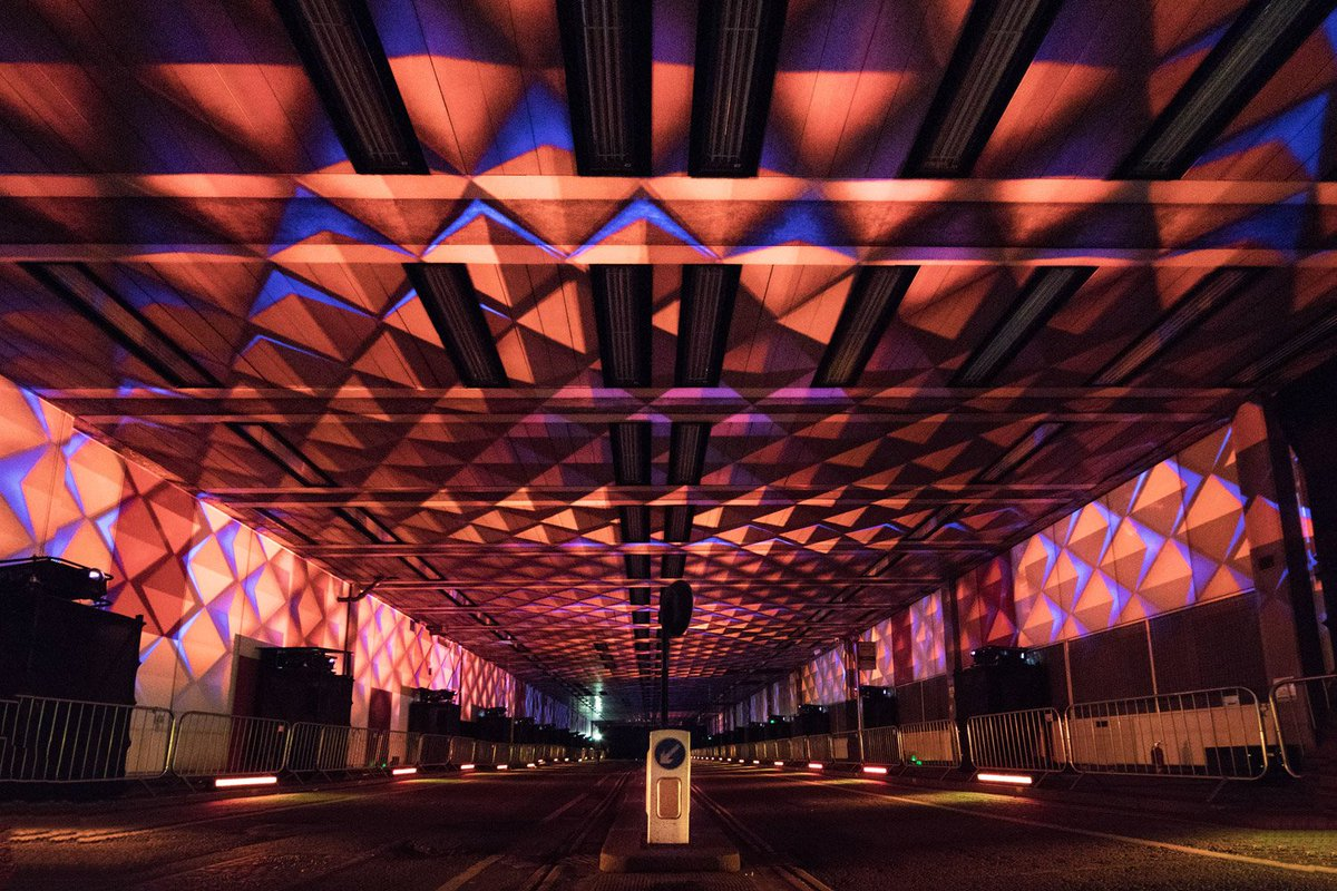 59 productions on twitter photos from tunnel visions array