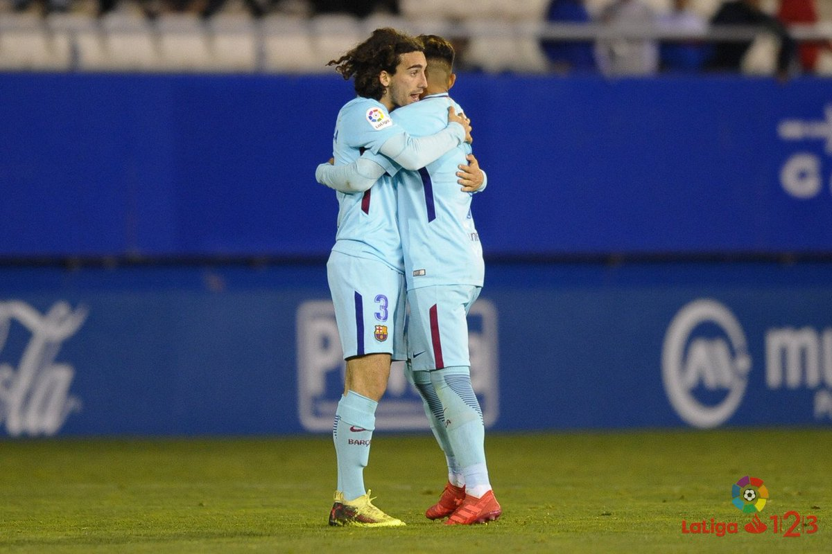 ⏱ FINAL en #LaLiga123 ⏱  #LorcaBarçaB 1-...