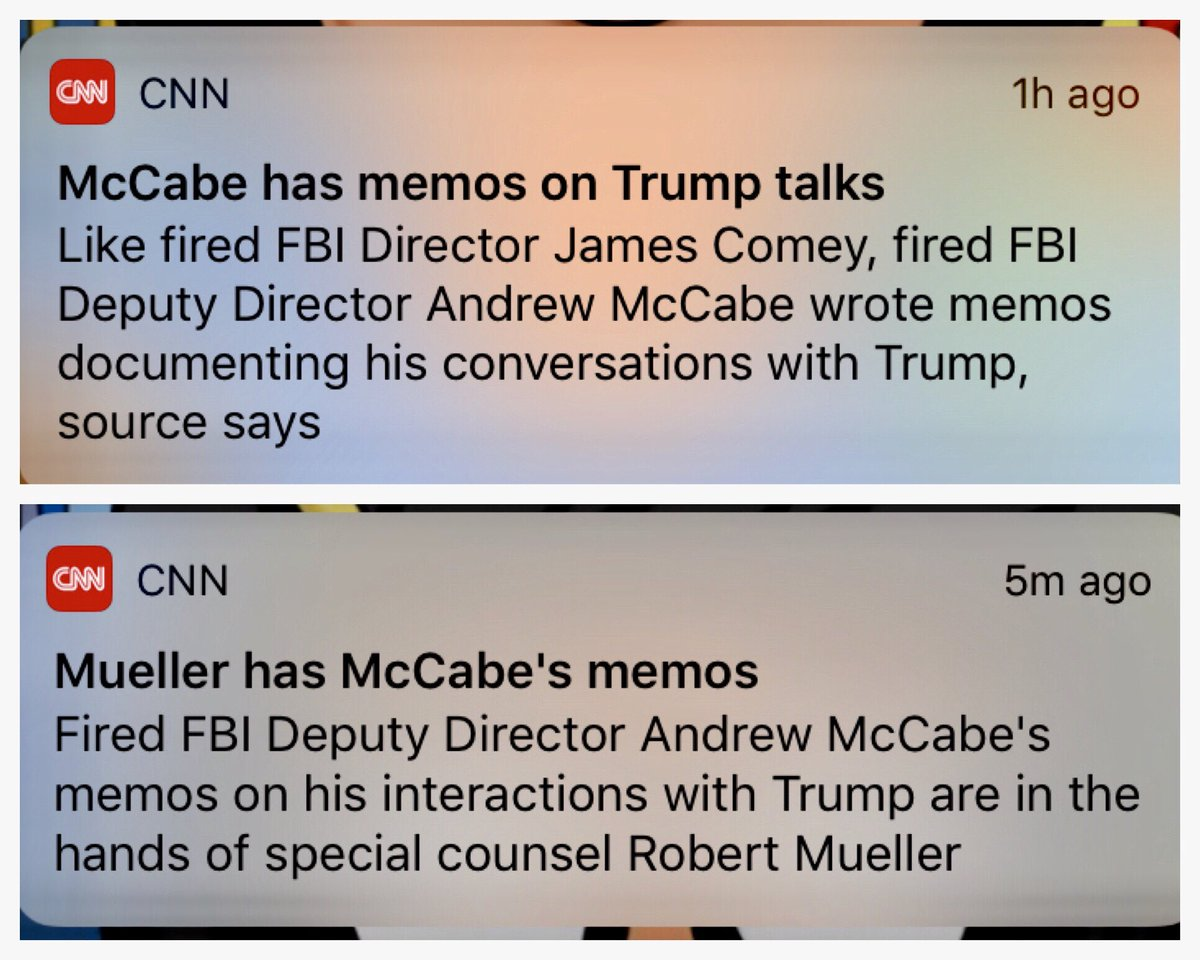 Saw these alerts back to back and actually laughed out loud.