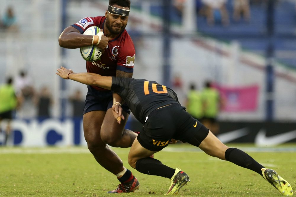 An incredible defensive display from @Reds_Rugby has secured their third straight win in BA. READ: https://t.co/HkOlvSjZsn #JAGvRED