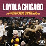 RT @SBNation: LOYOLA IS HEADING TO THE SWEET 16! h...