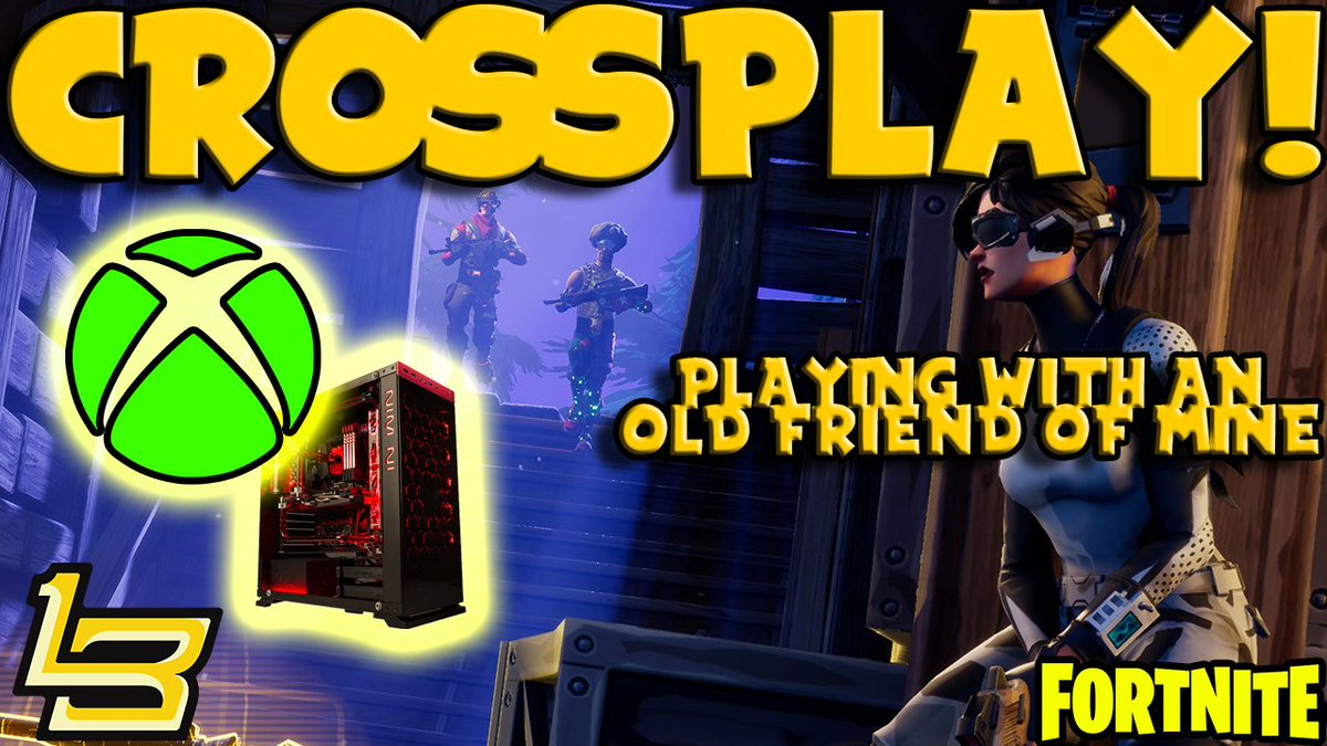 Crossplay in #Fortnite is SOO COOL! Was able to play with someone Ive know since I was a little kid. Its been so long since weve played do to being on different platforms. Crossplay is AMAZING! #FortniteBattleRoyale youtu.be/xflOmxE7gyY