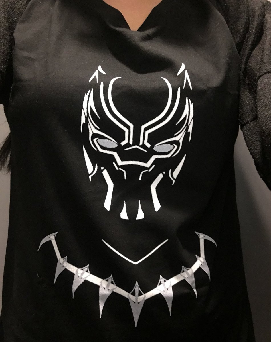 My #BlackPanther tee 😍😍😍