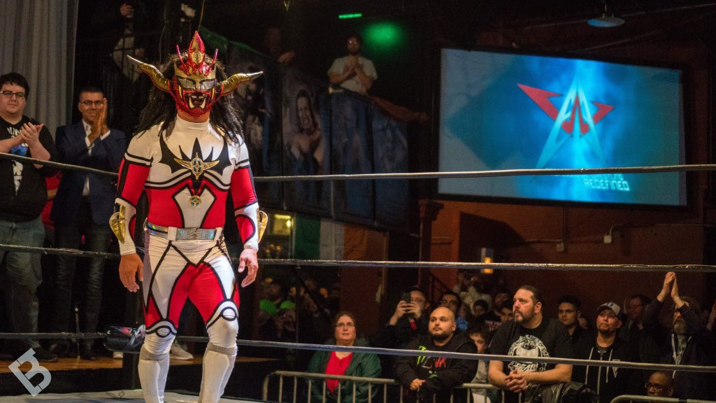 . @Liger_NJPW  THANK YOU It was an honor and a pleasure. Much love and respect from the entire AAW crew.