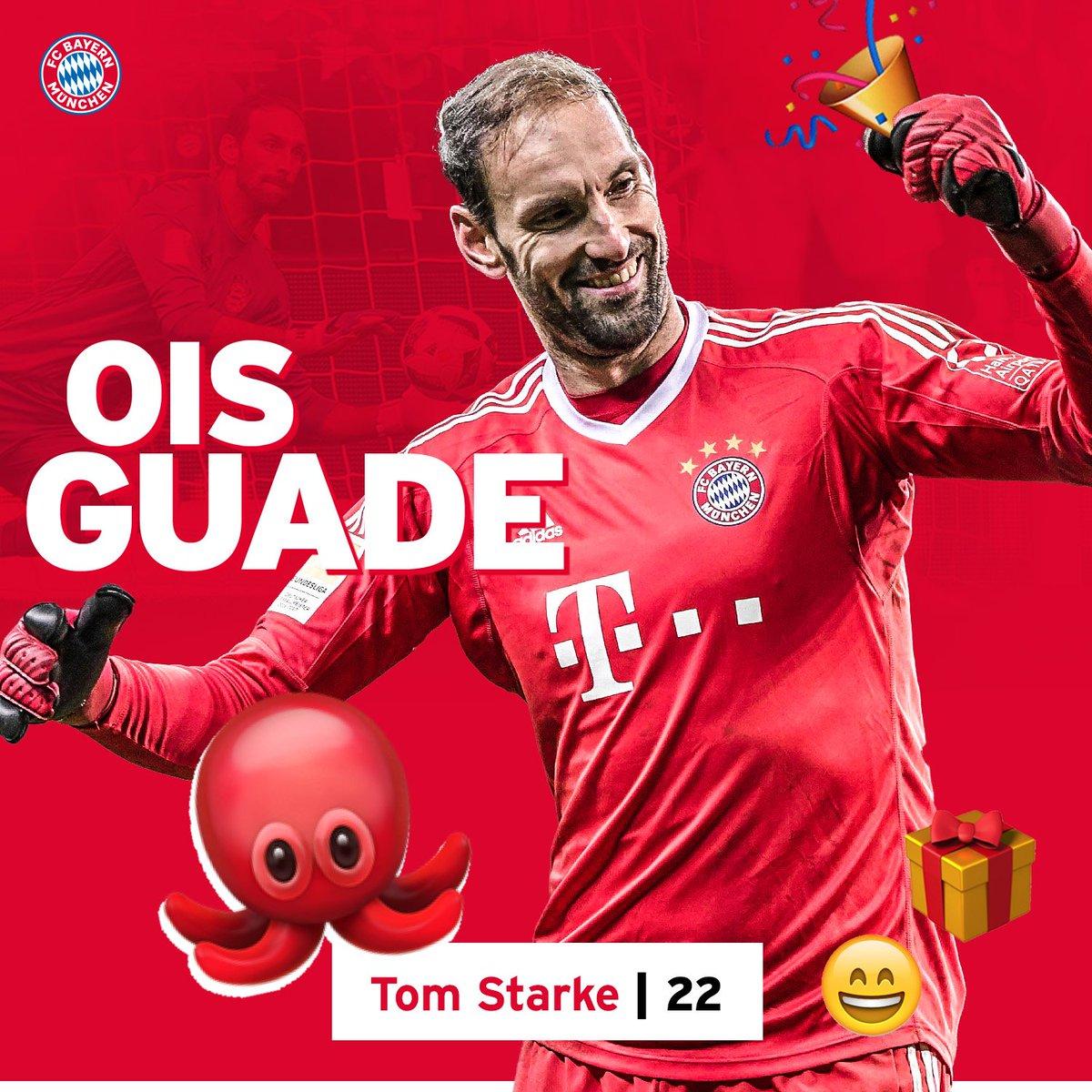 Ois Guade, Tom! 🐙🎉🎊🎈  #StarkeDieKrake #MiaSanMia