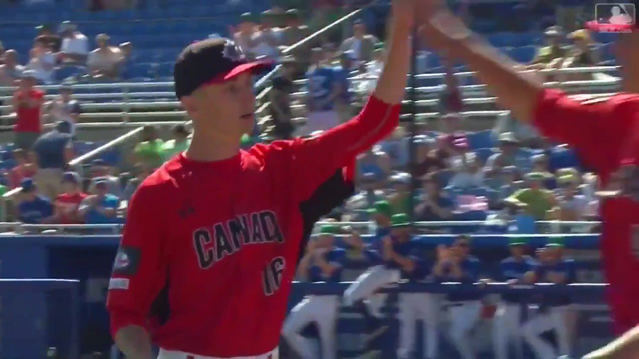 Braden Halladay, son of the late Roy Halladay, took the mound against his father's old team today. �� https://t.co/dDZf8MnfPA