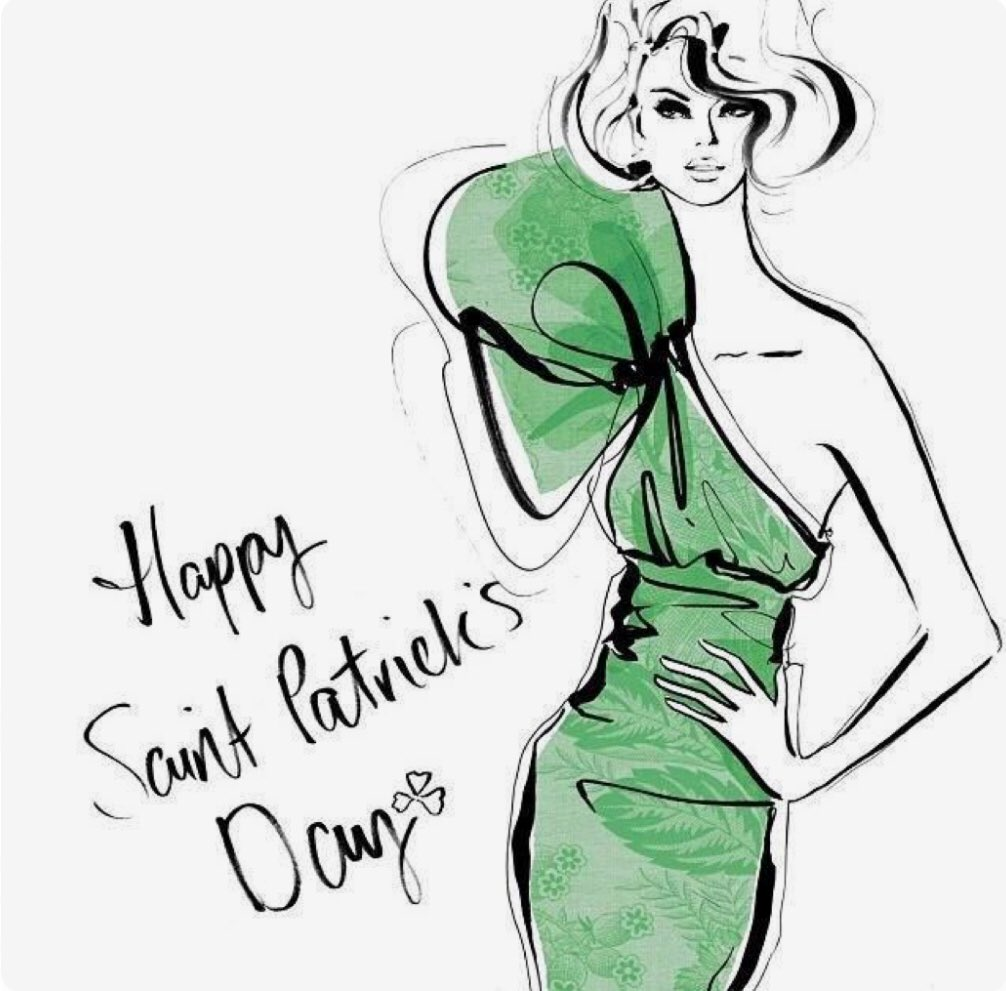 Happy St. Patrick's Day! See you soon, I...