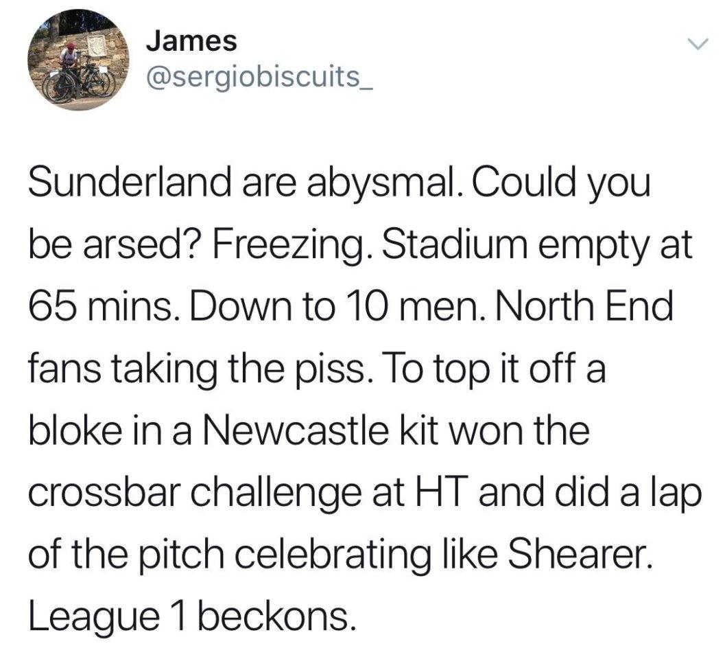 🤦♂️ Got to feel for Sunderland fans......