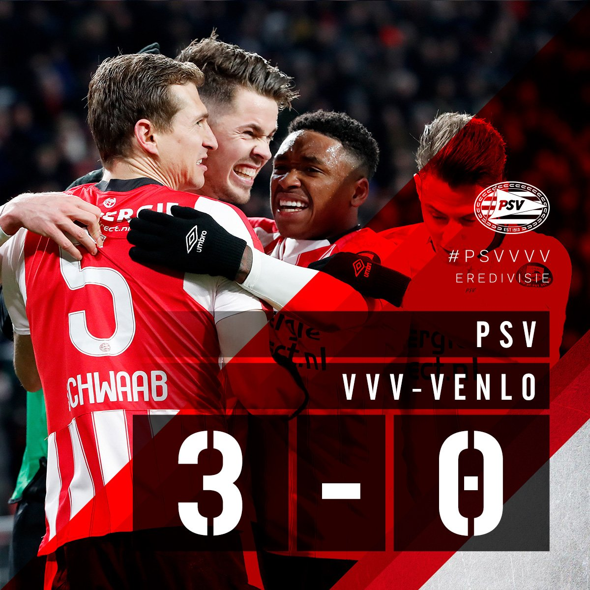 FULL-TIME #PSVVVV  1-0 Van Ginkel ((68)...