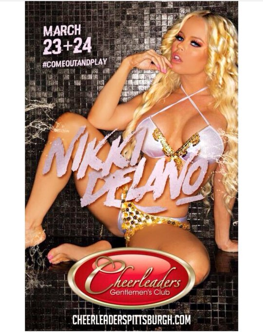 Meet me live next weekend at the amazing @cheerleaderspgh March 23 & 24th 💃💃💃💃 https://t.co/RgYJCOcP