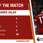 A very special performance from this lad. 👏👏👏  🔴 @22mosalah is your @carlsberg Man of the Match. 🔴