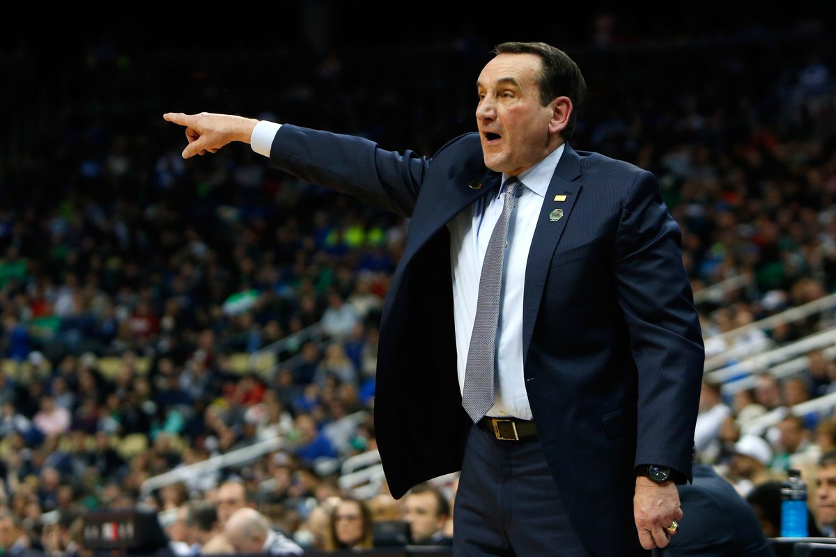 Congrats to Coach K, who now has the most Division I basketball wins (1,099) in history!