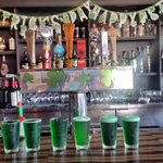 Green taps are flowing here! #SaintPatricksDay