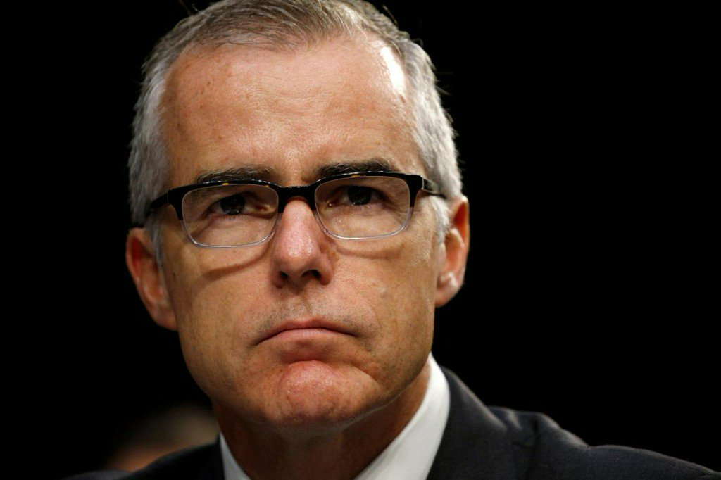 Fired FBI deputy McCabe kept notes on interactions with Trump - source familiar https://t.co/30oWrNrSdN