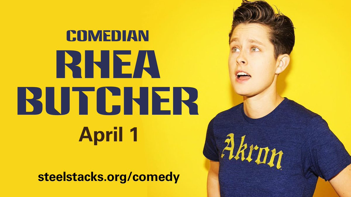 Los Angeles-based stand-up comic, actor and writer @RheaButcher returns to Bethlehem, PA on 4/1! Click here to laugh: buff.ly/2FG0nxh