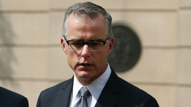 JUST IN: McCabe gave Mueller his memos on Trump: report https://t.co/PocweBHlyN
