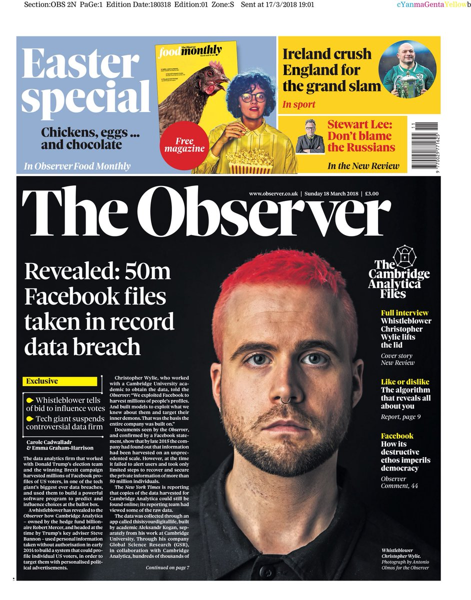 OBSERVER: Revealed: 50m Facebook files t...
