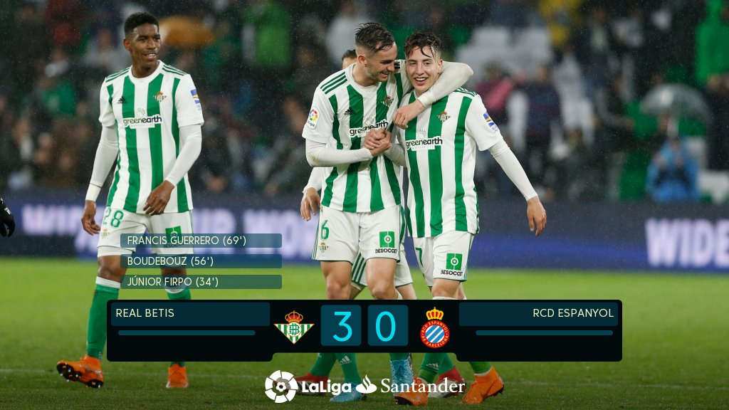 Betis close on the European places in #L...