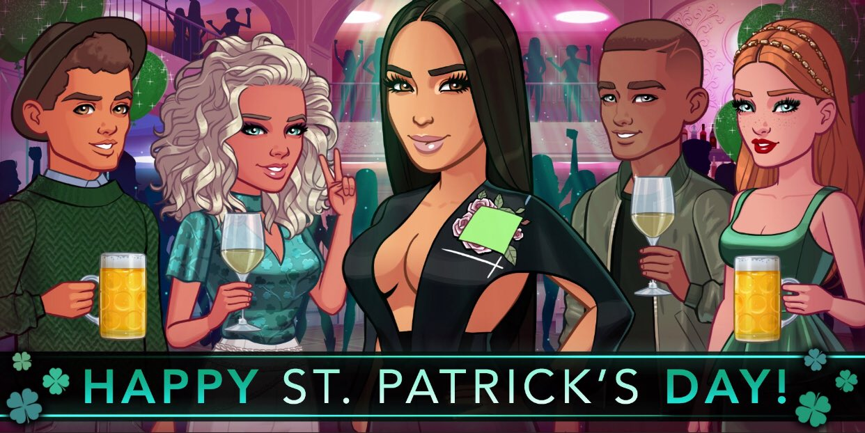 Happy St. Patrick's Day! �� have fun going to Ireland in my game! Who's playing? �� https://t.co/FahUuZqX6W https://t.co/ThYIUnlot3