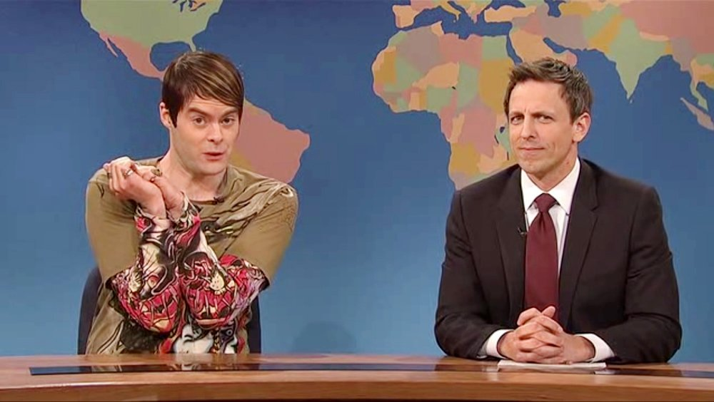 Bill Hader returns to host #SNL tonight! Revisit his best 'Saturday Night Live' characters: https://t.co/4uqz0tdzeq
