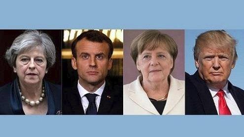 بريطانيا وفرنسا وألمانيا تقترح عقوبات أو...