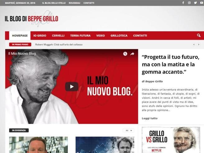 Grillo, M5S via dal blog. Crollano i contatti ma lui guadagna di più https://t.co/GPazLSsbuX