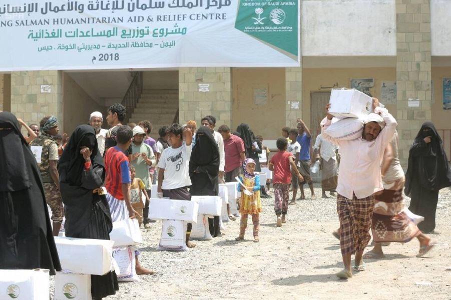 مركز الملك سلمان للإغاثة يدشن حملة توزيع...