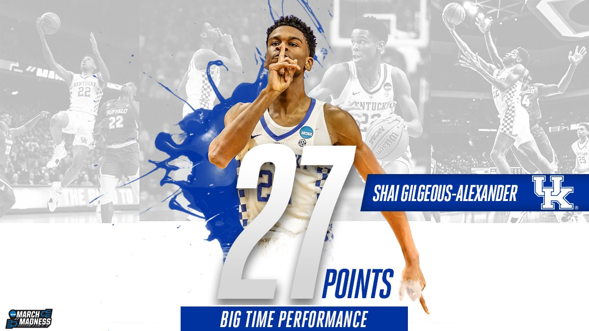 Shai Gilgeous-Alexander guides the Cats...