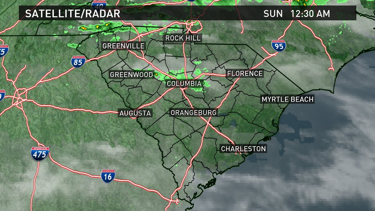 Here is the current South Carolina satellite/radar composite image. #scwx https://t.co/PgXLZYmzVD