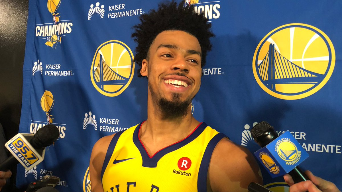 """""""I put in a lot of time. I always want to stay ready for the opportunity. I don't want the opportunity to come and not be ready. So that's been my motivation. I'm thankful for another opportunity here."""" - @QCook323 #DubNation"""