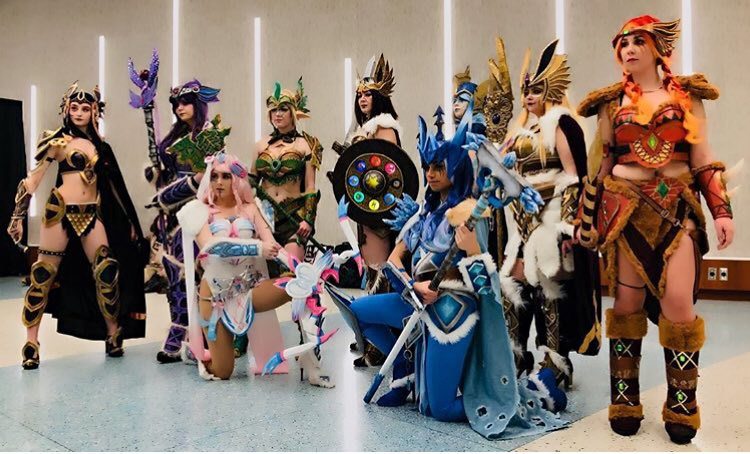 The #valkyrieevees group i was in today...