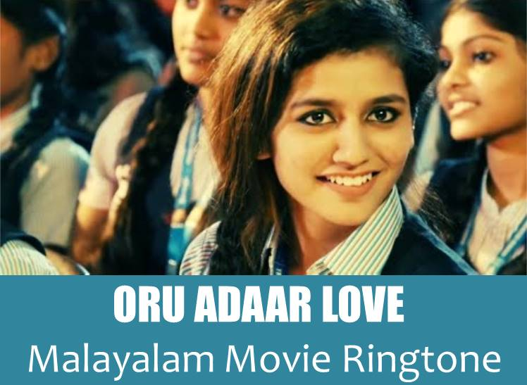 oru adaar love ringtone download