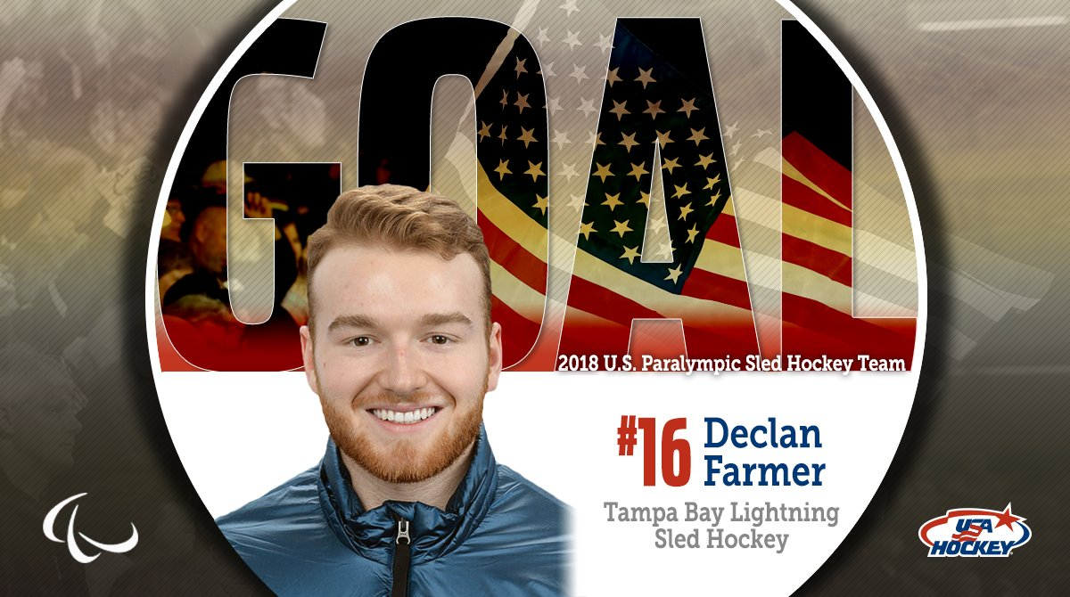 .@6DFarmer AGAIN!   #TeamUSA wins #WinterParalympics GOLD!!! 🇺🇸 🥇