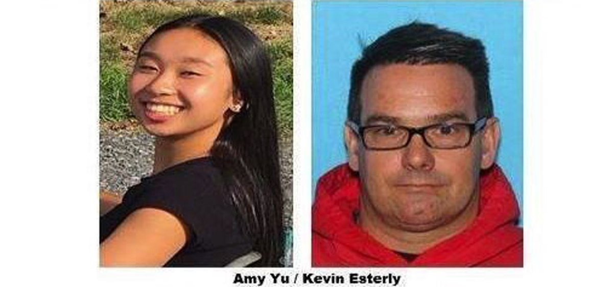 BREAKING: Missing Allentown teen Amy Yu found in Mexico; Kevin Esterly arrested. mcall.com/news/breaking/…