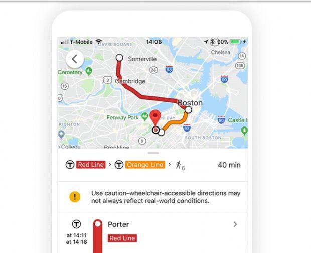 구글 지도, '휠체어 경로 검색' 추가 https://t.co/k6Zi4pWBXy #zdk