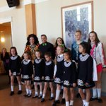 Wonderful performance by the O'Brien School of Irish Dance today who entertained our residents and staff! #forbetterretirementliving #irishdancing #HappyStPatricksDay