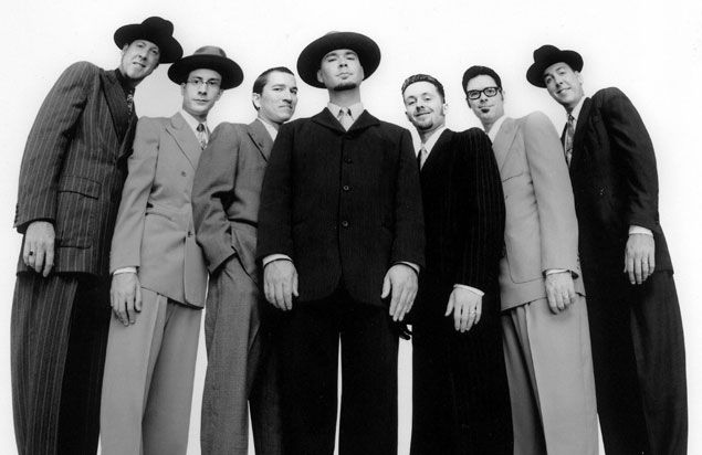ON SALE NOW! Big Bad Voodoo Daddy revitalizes jazz and swing music at RiverJazz pres. by @ConcannonCPA on 6/7! Info: buff.ly/2pi6pKu