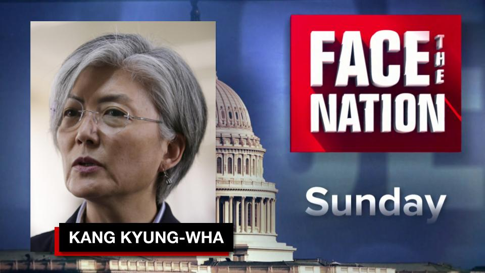 South Korean Foreign Minister Kang Kyung-Wha today sat down with @margbrennan   You won't want to miss their interview TOMORROW on @FaceTheNation 📺 https://t.co/oKdjp6Iona