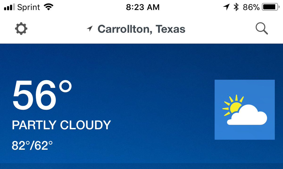 @weatherchannel can you tell me how the low for the day is warmer than the temp at the moment? #programmingerror #mathmistake #igetit #mathnotmythingeither